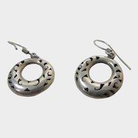 Sterling Silver Mexican Earrings for Pierced Ears