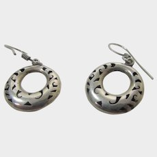 Sterling Silver Mexican Earrings for Pierced Ears
