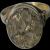 14 Karat Rose Gold Over Quartz Ring in Floral Design