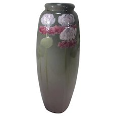 Weller Eocean Flower  Pitcher 1898 -1918 in Grey Background