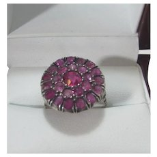 14 Karat Edwardian Ruby Ring