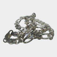 Sterling Silver Bold Link Chain Stamped Italy