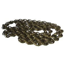 Vintage Chunky Gold Tone Chain