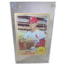 1968 Topps Steve Carlton #408