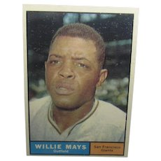 1961 Willie Mays Topps #150