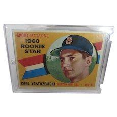Carl Yastrzemski Rookie 1960 Topps Original #148