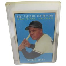 Willie Mays 1961 Most Valuable Player #482