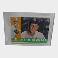 Stan Musial Topps 1960 #250