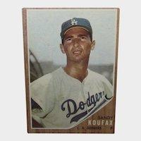 Sandy Koufax 1962 Topps #5