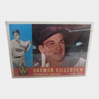 1960 Harmon Killebrew # 210