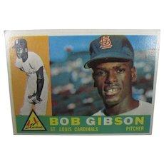 Bob Gibson Topps 1960 #73