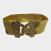 Nolan Miller Liquid Gold Tone Multi Strand Bracelet