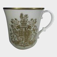 Queen Elizabeth II  1977 Silver Jubilee Cup By Royal Doulton