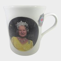 Queen Elizabeth The Queen Mother 90th BIrthday Cup Prince William Pottery