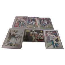 Dan Marino Miami Dolphins Six Different Sports Cards