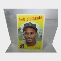 Topps 1959 Bob Clemente #478