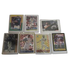 Ken Griffey Seven Cards from Early 1990's