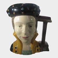 Royal Doulton Catherine Parr D6664 Large Character  Jug