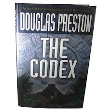 Signed First Edition Douglas Preston The Codex 2004