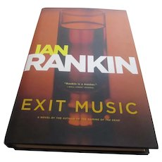Ian Rankin Signed First American Edition Exit Music 2007