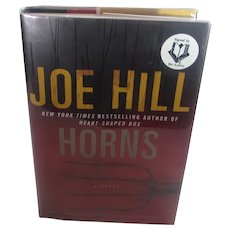 Horns A Joe Hill (Hardcover) Signed First Edition and Author's Doodle