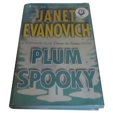 Plum Spooky First Edition Signed By Evanovich, Janet