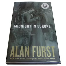 Signed First Edition Midnight in Europe Alan Furst