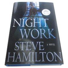 Signed First Edition Night Work Steve Hamilton 2007