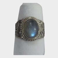 Sterling Silver Labradorite Ring With Great Design