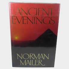 Norman Mailer Signed Copy of 1983 Novel Ancient Evenings