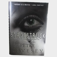 Signed Peter Lovesey Stagestruck 2011