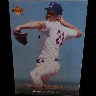 Rogers Clemons Boston Red Sox 1995 Upper Deck # 159