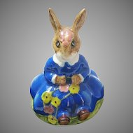 Vintage Royal Doulton Daisie Bunnykins 1972 Figure Figurine Spring Time DB7