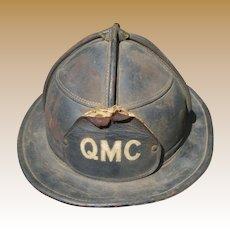 Cairns & Brother Leather Fireman's Helmet
