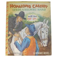 Hopalong Cassidy Pop Up Bonnie Book