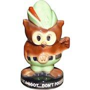 McCoy Woodsy Owl Pottery Bank