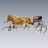 Gibbs Horse And Cart Pull Toy