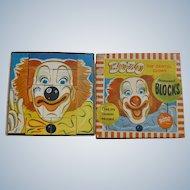Bozo The Clown Children's Blocks
