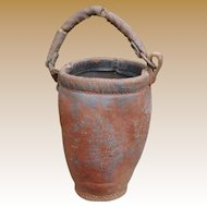 Youth Size Leather Fire Bucket