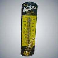 Nesbitt's California Orange Advertising Thermometer