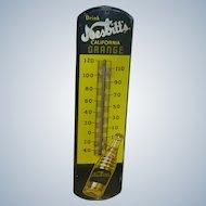 Nesbitt's California Orange Advertising Thermometer