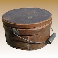 Primitive Pantry Box With Bail Handle