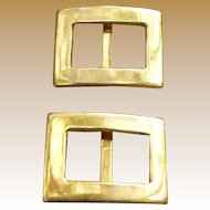 Precious 14K Doll Child's Buttons Buckles