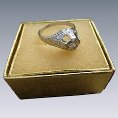 14K Diamond Cocktail Ring