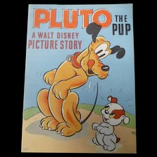 Disney Pluto The Pup Story Book