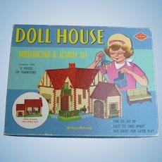 Built Rite Doll House Construction & Activity Set