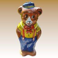 Chein Wind Up Tin Toy Bear