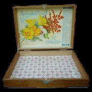 Mandeville & King Co. Advertising Seed Display Box