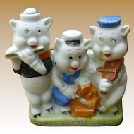 Disney Three Little Pigs Toothbrush Holder