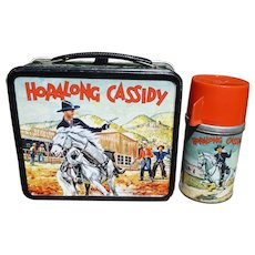Hopalong Cassidy Aladdin Lunchbox W/Thermos